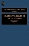 Jacket Image For: Multi-Level Issues in Social Systems