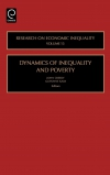 Jacket Image For: Dynamics of Inequality and Poverty