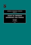 Jacket Image For: Issues in Corporate Governance and Finance