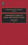 Jacket Image For: Comparative Studies of Social and Political Elites