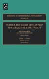 Jacket Image For: Product and Market Development for Subsistence Marketplaces