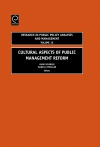 Jacket Image For: Cultural Aspects of Public Management Reform