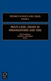 Jacket Image For: Multi-Level Issues in Organizations and Time