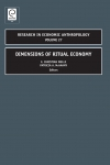 Jacket Image For: Dimensions of Ritual Economy