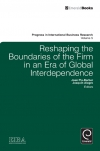 Jacket Image For: Reshaping the Boundaries of the Firm in an Era of Global Interdependence