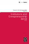 Jacket Image For: Institutions and Entrepreneurship