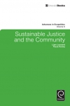 Jacket Image For: Sustainable Justice and the Community