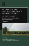 Jacket Image For: Globalization and the Time-space Reorganization