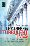 Jacket Image For: Leading in Turbulent Times