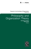 Jacket Image For: Philosophy and Organization Theory