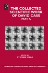 Jacket Image For: The Collected Scientific Work of David Cass