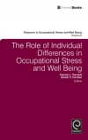 Jacket Image For: The Role of Individual Differences in Occupational Stress and Well Being