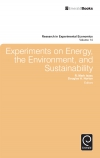 Jacket Image For: Experiments on Energy, the Environment, and Sustainability