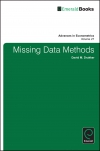 Jacket Image For: Missing-Data Methods