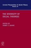 Jacket Image For: The Diversity of Social Theories