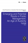 Jacket Image For: Emerging and Potential Trends in Public Management
