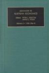 Jacket Image For: Advances in Austrian Economics