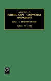 Jacket Image For: Advances in International Comparative Management