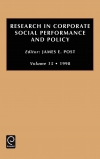 Jacket Image For: Research in Corporate Social Performance and Policy