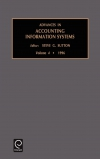 Jacket Image For: Advances in Accounting Information Systems