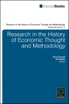 Jacket Image For: Research in the History of Economic Thought and Methodology