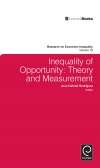 Jacket Image For: Inequality of Opportunity