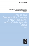 Jacket Image For: Finance and Sustainability