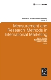 Jacket Image For: Measurement and Research Methods in International Marketing