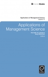 Jacket Image For: Applications of Management Science