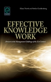 Jacket Image For: Effective Knowledge Work