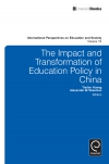 Jacket Image For: The Impact and Transformation of Education Policy in China