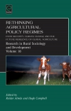 Jacket Image For: Rethinking Agricultural Policy Regimes