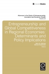 Jacket Image For: Entrepreneurship and Global Competitiveness in Regional Economies