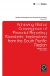 Jacket Image For: Achieving Global Convergence of Financial Reporting Standards