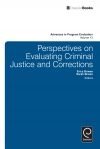 Jacket Image For: Perspectives On Evaluating Criminal Justice and Corrections