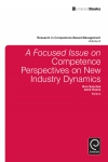 Jacket Image For: A focussed Issue on Competence Perspectives on New Industry Dynamics