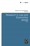Jacket Image For: Research in Law and Economics