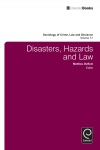 Jacket Image For: Disasters, Hazards and Law