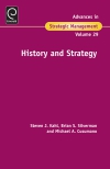 Jacket Image For: History and Strategy