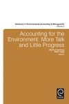 Jacket Image For: Accounting for the Environment