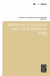 Jacket Image For: Advances in Industrial & Labor Relations