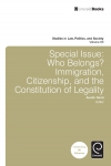 Jacket Image For: Special Issue: Who Belongs?