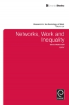 Jacket Image For: Networks, Work, and Inequality