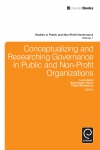 Jacket Image For: Conceptualizing and Researching Governance in Public and Non-Profit Organizations