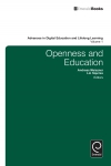 Jacket Image For: Openness and Education