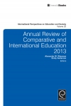 Jacket Image For: Annual Review of Comparative and International Education 2013