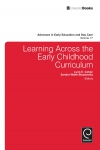 Jacket Image For: Learning Across the Early Childhood Curriculum