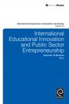 Jacket Image For: International Educational Innovation and Public Sector Entrepreneurship