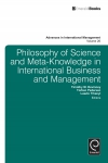Jacket Image For: Philosophy of Science and Meta-Knowledge in International Business and Management