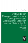 Jacket Image For: Var Models in Macroeconomics - New Developments and Applications